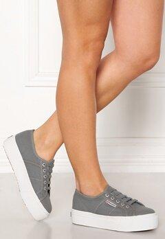 Superga Acotw Linea Sneakers Grey DK Sage Bubbleroom.no