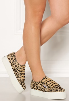 Superga FANCOTW Classic Sneakers Leopard Bubbleroom.no