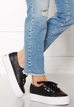 Superga Nappalea Sneakers Black-White C39 Bubbleroom.no