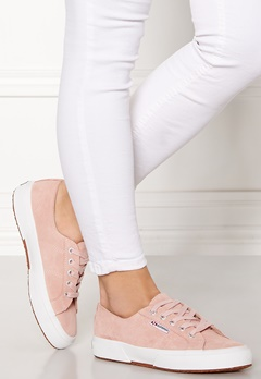 Superga SUEU Sneakers Pink Skin W6Y Bubbleroom.no