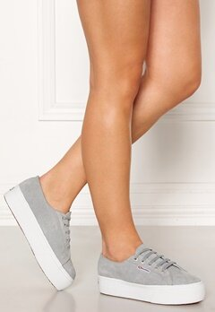 Superga SUEW Sneakers Lite Grey Bubbleroom.no
