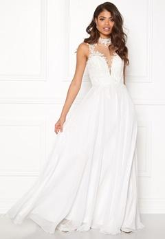 SUSANNA RIVIERI Ceremonial Dress Ivory Bubbleroom.no