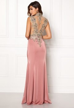SUSANNA RIVIERI Embellished Maxi Dress Rose Bubbleroom.no