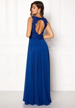 SUSANNA RIVIERI Embellished Chiffon Dress Royal Bubbleroom.no