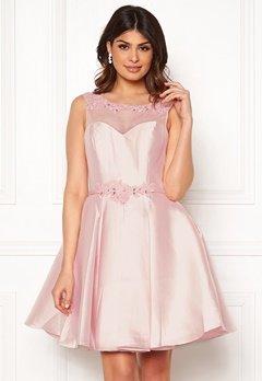 SUSANNA RIVIERI Embroidered Dream Dress Blush Bubbleroom.no