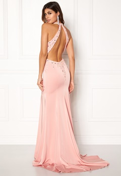 SUSANNA RIVIERI Sequin Maxi Dress Rose Bubbleroom.no