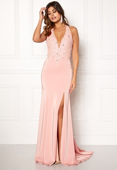 SUSANNA RIVIERI Sequin Maxi Dress Rose Bubbleroom.no