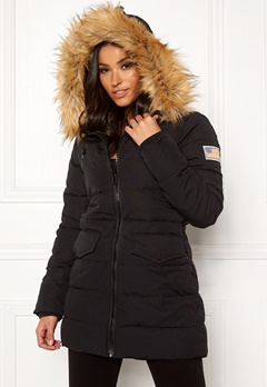 Svea Joy Jacket 900 Black Bubbleroom.no