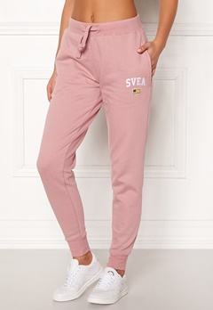 Svea Maj Sweat Pants 526 Dusty Pink Bubbleroom.no