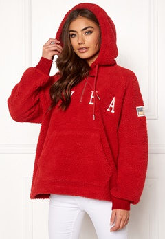 Svea Ophelia Pile Hood Bright Red Bubbleroom.no