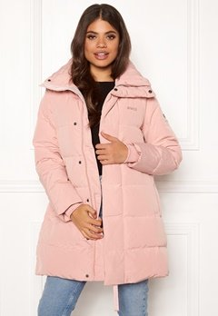 Svea Slim Fit Padded Jacket 505 Soft Pink Bubbleroom.no