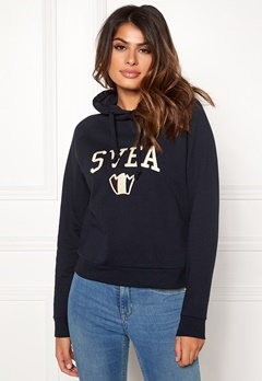 Svea Tone Hood Dark Navy Bubbleroom.no