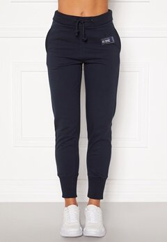 Svea W. C Sweat Pants 600 Navy Bubbleroom.no