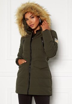 Svea W. Joy Jacket 206 Dark Army Bubbleroom.no
