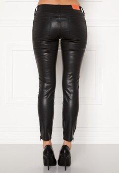 the Odenim O-Kite Jeans 05 Coated Black Bubbleroom.no