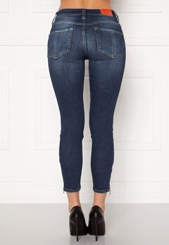 the Odenim O-Swee Jeans 09 DK Midblue Bubbleroom.no