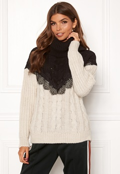 TIFFOSI Lacey Sweater 110 Beige Bubbleroom.no