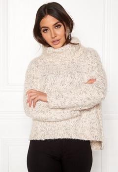 TIFFOSI Slubby Sweater 110 Beige Bubbleroom.no