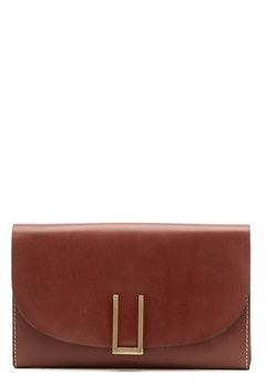 TIGER OF SWEDEN Ervin Small Leather Bag 10M Light Brown Bubbleroom.no