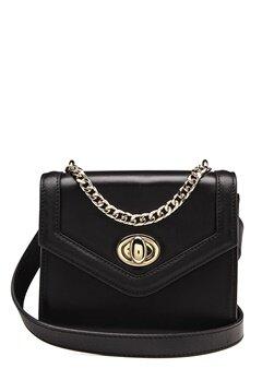 TIGER OF SWEDEN Murata Small Leather Bag 050 Black Bubbleroom.no