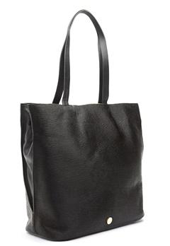 TIGER OF SWEDEN Swansley Leather Handbag Black Bubbleroom.no