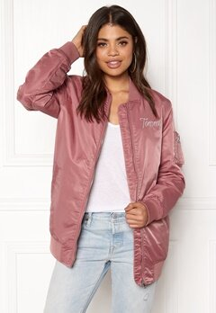 TOMMY JEANS THDW Nylon Bomber Withered Rose Bubbleroom.no