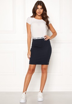 TOMMY JEANS Bodycon Skirt CBK Black Iris Bubbleroom.no