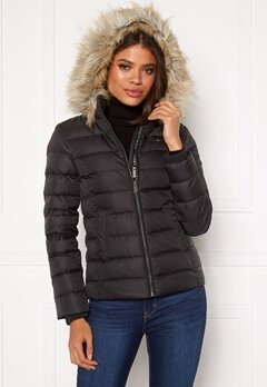 TOMMY JEANS Essential Down Jacket 078 Tommy Black Bubbleroom.no
