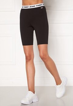 TOMMY JEANS Legging Short BDS Black Bubbleroom.no