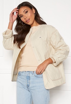 TOMMY JEANS Quilted Liner Jacket Sugercane Bubbleroom.no
