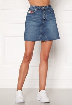 TOMMY JEANS Short Denim Skirt BTN Fly 1A5 Save PF Mid Blue Bubbleroom.no