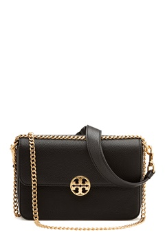 TORY BURCH Chelsea Convertible Bag Black Bubbleroom.no