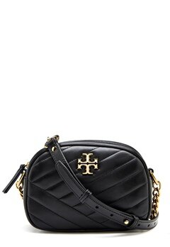 TORY BURCH Kira Chevron Camera Bag Black Bubbleroom.no