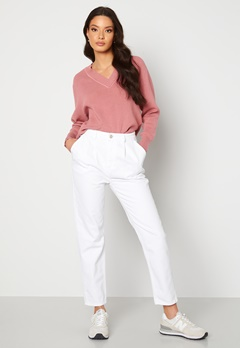Trendyol Eco Cotton High Waist Jeans White Bubbleroom.no
