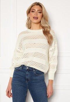 Trendyol Knitted Sweater Ecru Bubbleroom.no