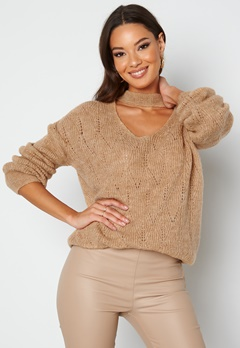 Trendyol Lucy Knitted Jumper Camel bubbleroom.no