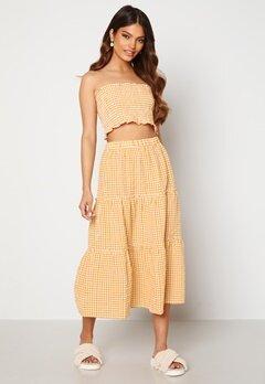 Trendyol Smock Top Skirt Set Sari/Yellow Bubbleroom.no