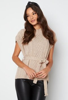 Trendyol S/S Knitted Sweater Stone bubbleroom.no