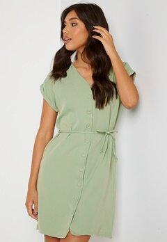 Trendyol V-Neck Button Dress Mint Bubbleroom.no