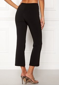 Pieces Trisha Kick Flare Pants Black Bubbleroom.no