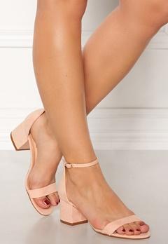 Truffle Hallie Block Heel Sandals Nude Bubbleroom.no