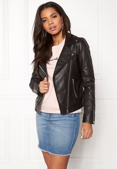 Twist & Tango Amanda Leather Jacket Black Bubbleroom.no