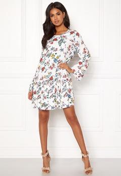 Twist & Tango Bernice Dress White Garden Bubbleroom.no