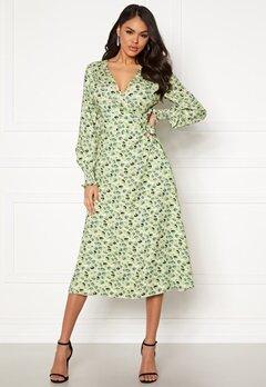 Twist & Tango Blanka Dress Green Mini Flower Bubbleroom.no