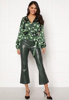 Twist & Tango Cornelia Trousers Blackish Green Bubbleroom.no