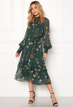 Twist & Tango Eden Dress Green Botanical Bubbleroom.no