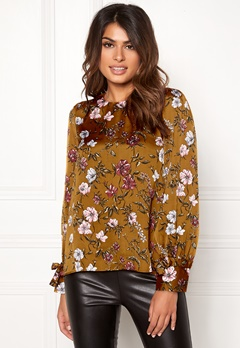 Twist & Tango Edina Blouse Rust Flower Bubbleroom.no