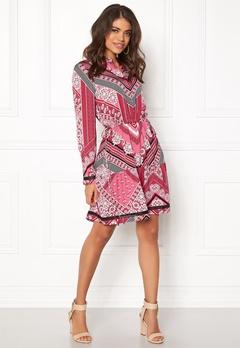 Twist & Tango Emelie Dress Red Graphic Print Bubbleroom.no