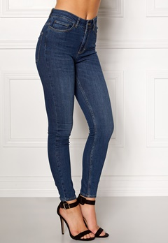 Twist & Tango Julie High Waist Jeans Dark Blue Bubbleroom.no