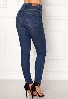 Twist & Tango Julie High Waist Jeans Dark Blue Bubbleroom.no